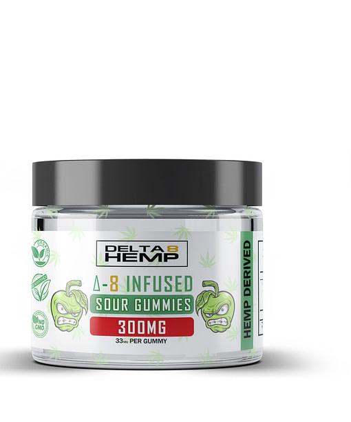 Delta 8 THC Sour gummies