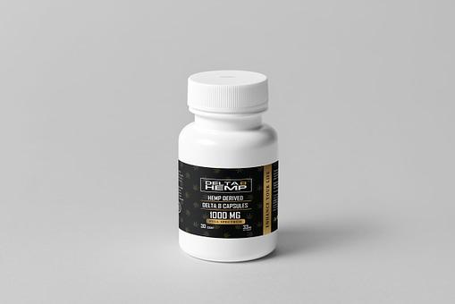 Delta 8 Capsule 1 gram