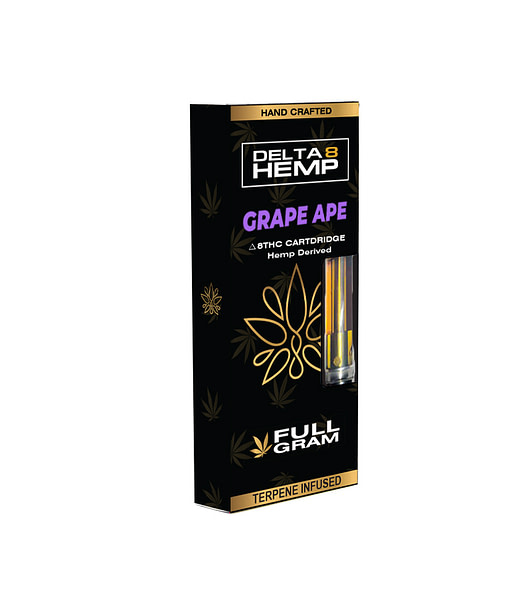 Grape Ape - Full Gram Delta 8 Vape Cartridge