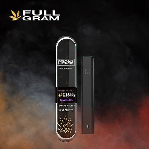 Grape Ape 1g - Delta 8 THC Disposable Vape Pen