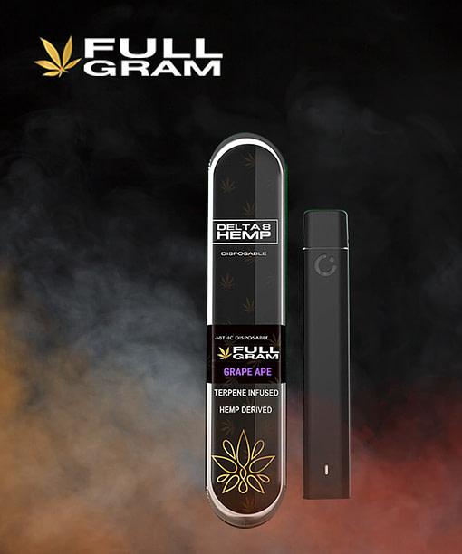 Grape Ape 1g - Delta 8 THC Disposable Vape Pen